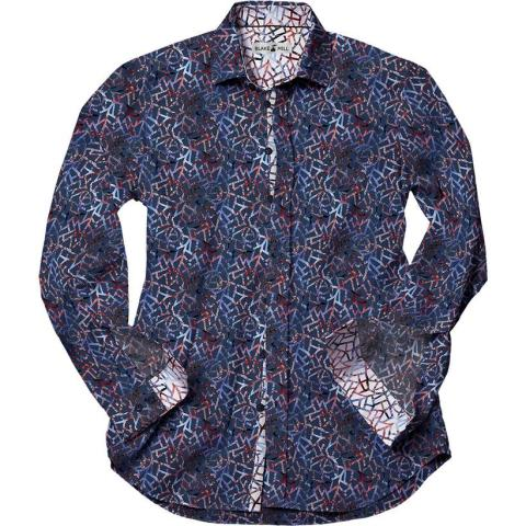Cracked Paisley Shirt in Dark - © Blake Mill 2018