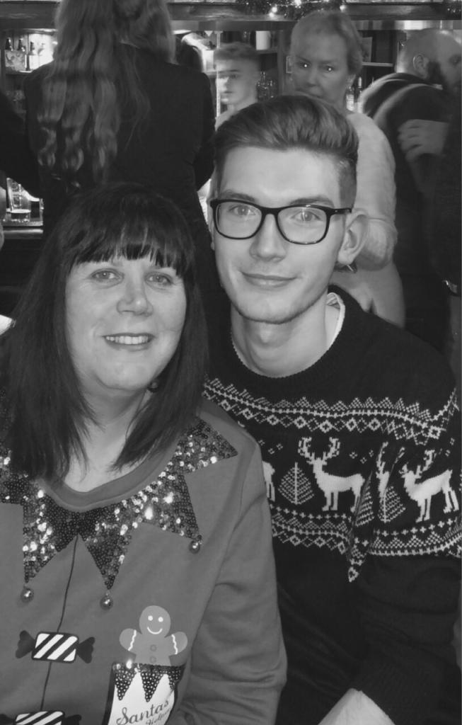 Me & My Mum - Leicester, UK - 25th December 2017