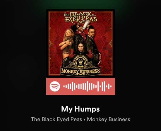 My Humps - The Black Eyed Peas