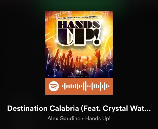 Destination Calabria - Alex Gaudino, Crystal Waters
