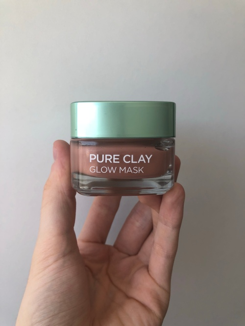 L'Oreal's Glow Pure Clay Mask