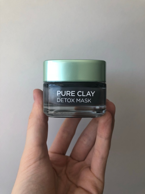L'Oreal's Detox Pure Clay Mask